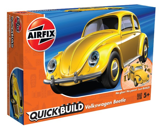 Airfix Quickbuild Volkswagen Beetle Yellow - Model Kit