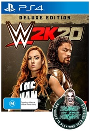 WWE 2K20 Deluxe Edition for PS4