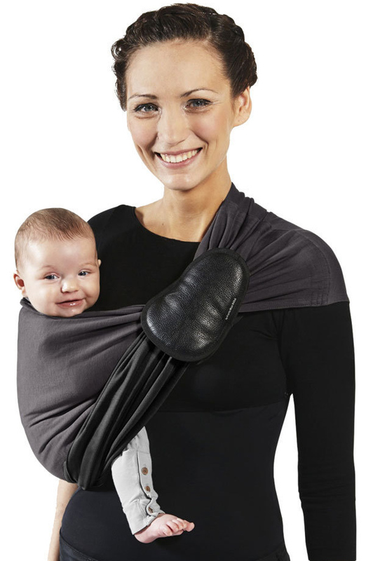 Wrap Without a Knot Ring Sling - Charcoal/Black