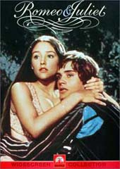 Romeo & Juliet (1968) on DVD