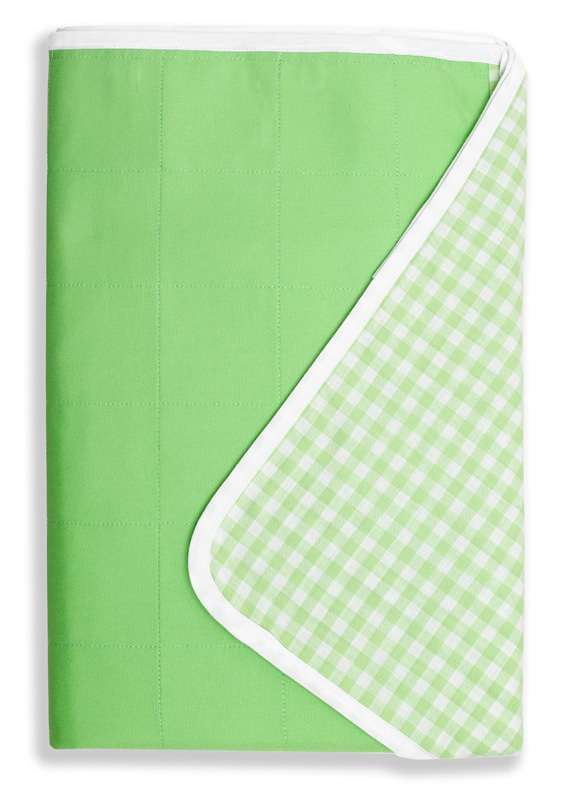 Brolly Sheets Single Size Sheet Bed Pad - Lime image