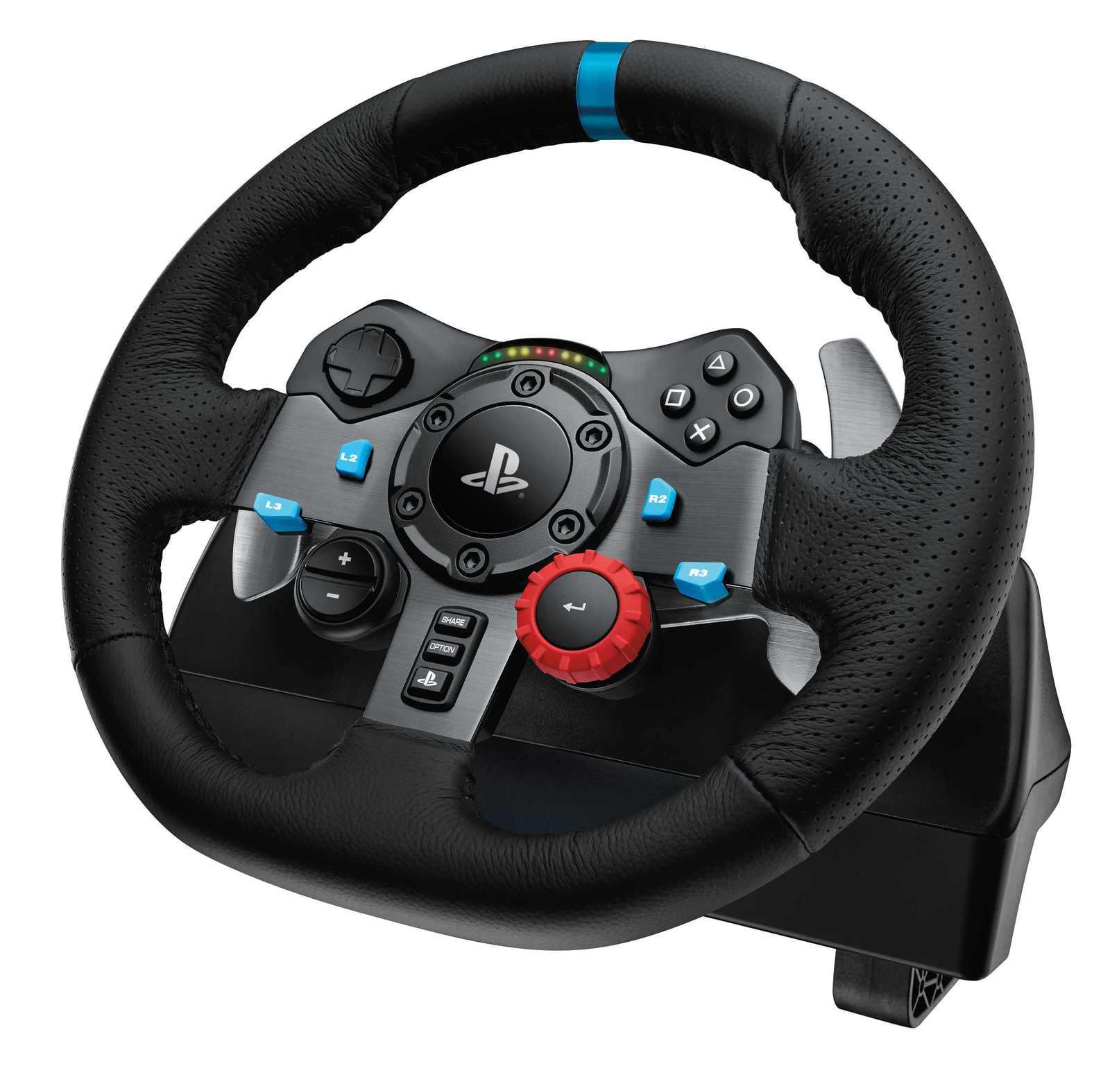 Logitech G29 Feedback Racing Wheel (PS4)