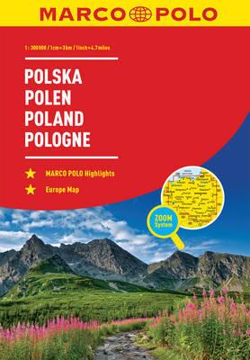 Poland Marco Polo Road Atlas by Marco Polo image