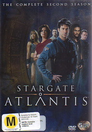 Stargate Atlantis - Complete Season 2 (5 Disc Box Set) on DVD image
