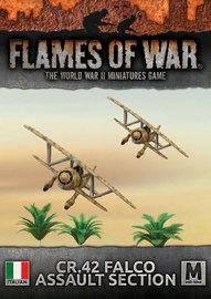 Flames of War: CR.42 Falco Assault Section (x2)