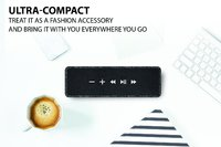 Creative Nuno Designer Cloth Bluetooth Speaker - Black image