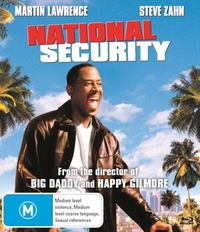 National Security on Blu-ray