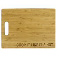 Bamboo Cutting Board: Chop It