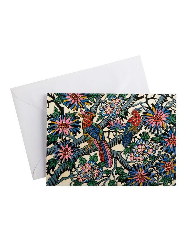 Maxwell & Williams: Greg Irvine Greeting Card - Birds In Paradise