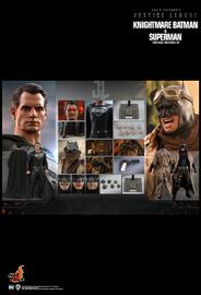 """Justice League: Knightmare Batman & Superman - 12"""" Articulated Figure Set"""