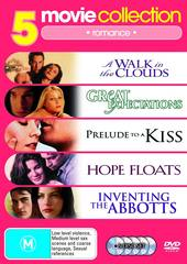 5 Movie Collection: Romance Hope Floats/Great Expectations/Prelude To Kiss/Walk In The Clouds/Inventing The Abbotts on DVD