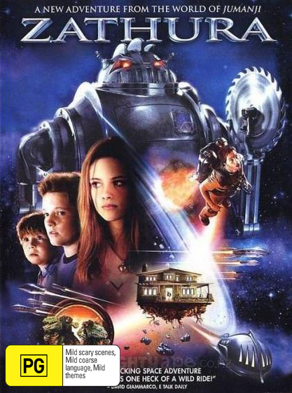 Zathura: A Space Adventure on DVD