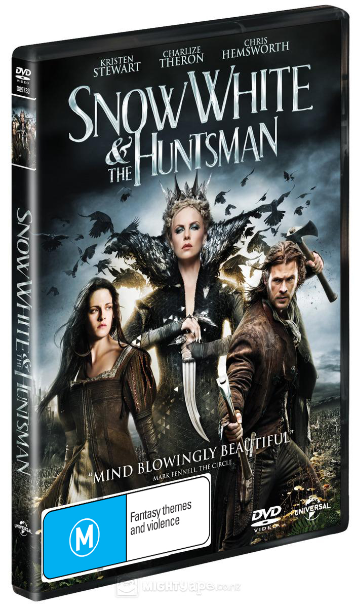 Snow White and the Huntsman on DVD image