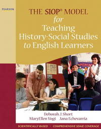 The SIOP Model for Teaching History-Social Studies to English Learners by Jana Echevarria image