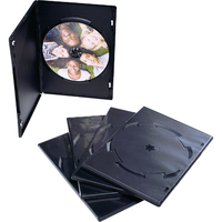Verbatim DVD Video Trim Cases - 25pk (Black) image