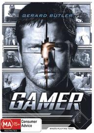 Gamer on DVD image