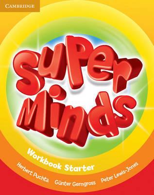 Super Minds Starter Workbook by Herbert Puchta image