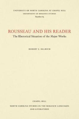 Rousseau and His Reader by Robert J. Ellrich image
