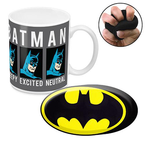 Batman Mug & Stress Reliever Gift Set