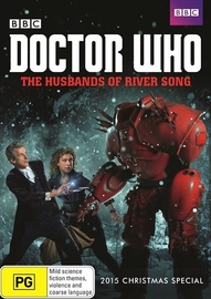 Doctor Who: The Husbands of River Song on Blu-ray