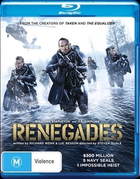 Renegades on Blu-ray