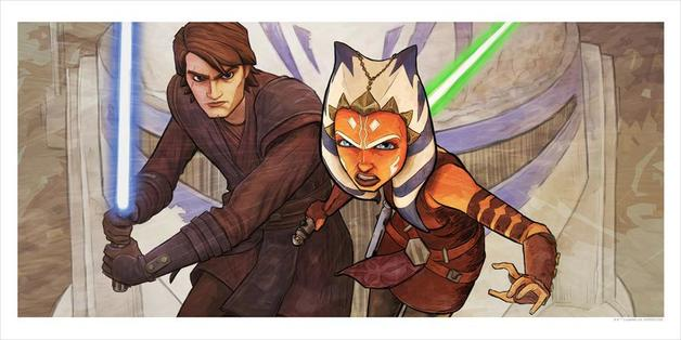 Star Wars: The Clone Wars Whatever Is Required - Lithograph Art Print