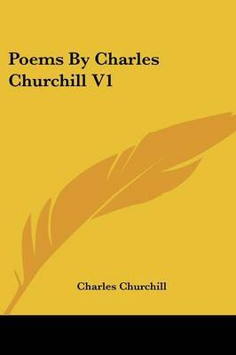 Poems by Charles Churchill V1 by Charles Churchill image