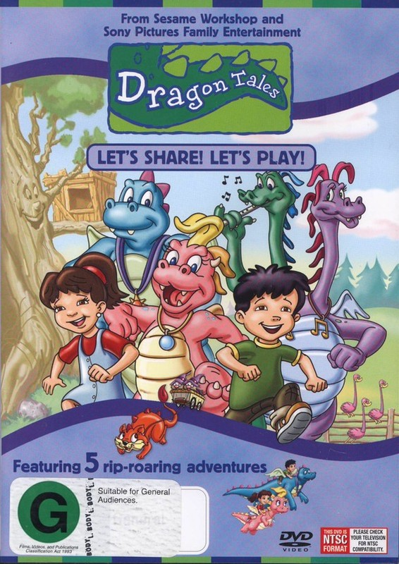 Dragon Tales - Let's Share! Let's Play! on DVD