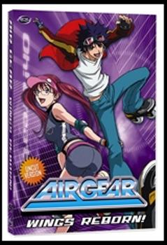 Air Gear - Vol. 4: Wings Reborn! on DVD