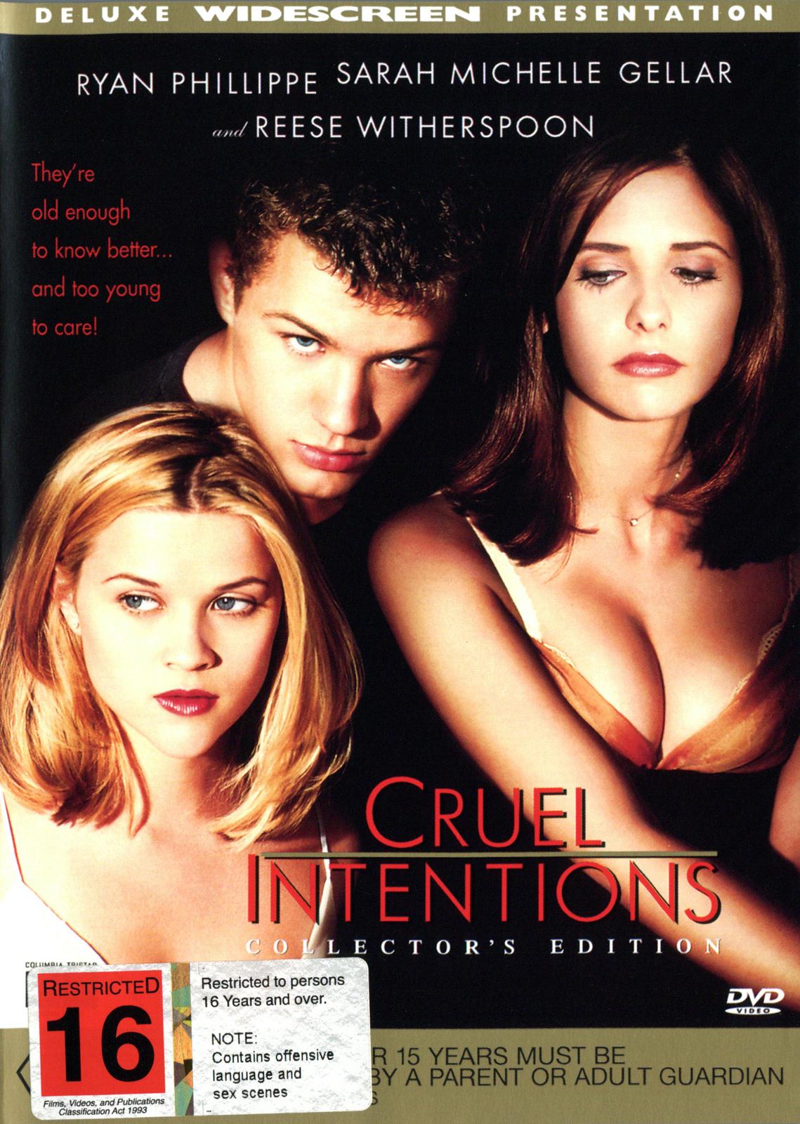 Cruel Intentions on DVD image