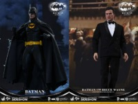 "Batman Returns: Batman & Bruce Wayne 12"" Figures Set"