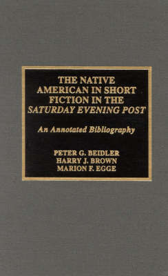 The Native American in Short Fiction in the Saturday Evening Post by Peter G Beidler image