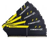4 x 8GB G.SKILL Trident Z 3200MHz DDR4 Ram - Black/Yellow