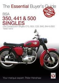 BSA 350 & 500 Singles by Peter Henshaw