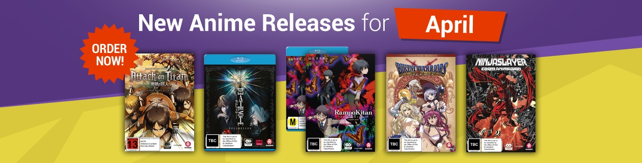 New Anime Releases