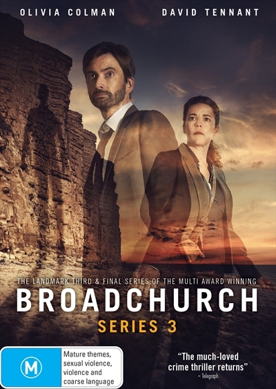 Broadchurch - The Complete Third Season on DVD image