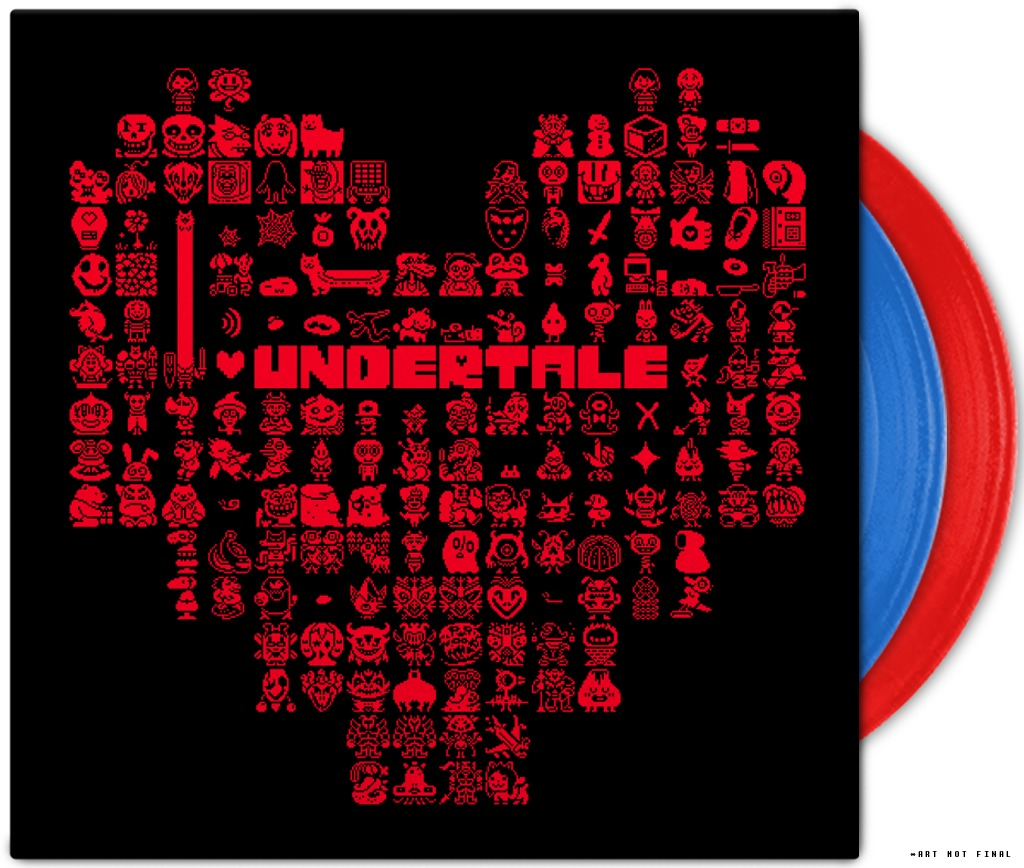 Undertale Soundtrack (2LP) by Toby Fox image