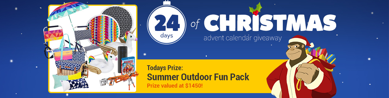 Day 17: Summer Outdoor Fun Pack