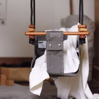 SOLVEJ Baby Swing - Classic Taupe image