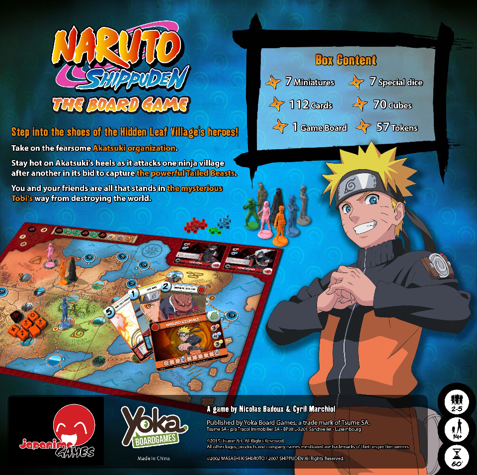 Naruto Shippuden - The Board Game Images at Mighty Ape Australia