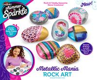 Shimmer 'n Sparkle: Metallic Rock Art - Craft Kit