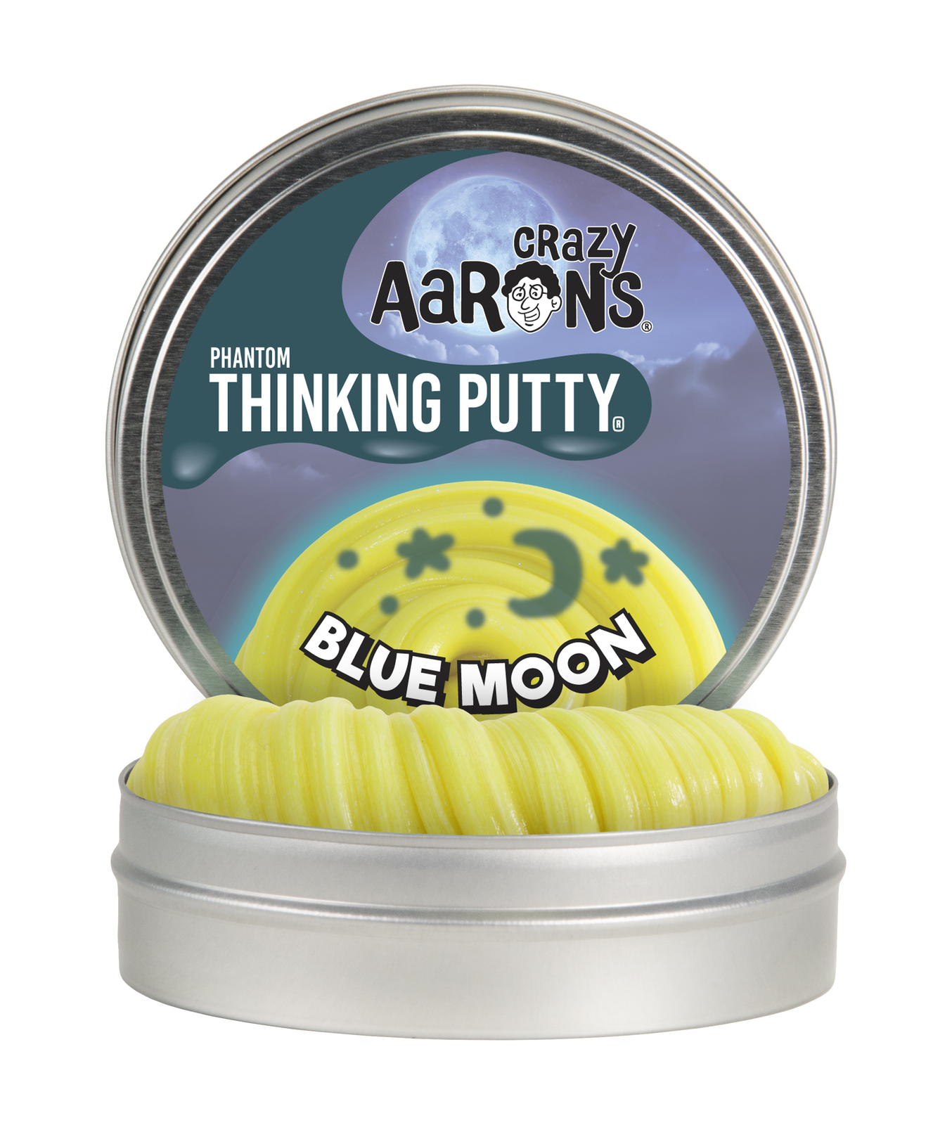 Crazy Aarons: Thinking Putty - Blue Moon (UV) image