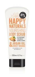 Happy Naturals Argan Oil & Sweet Orange Body Scrub (200ml)