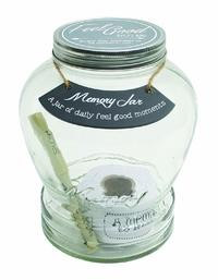 Memory Keepsake Jar - Feel Good