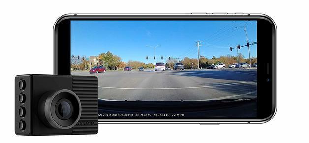 Garmin Dash Cam 46, Wide 140-Degree Field of View In 1080P HD