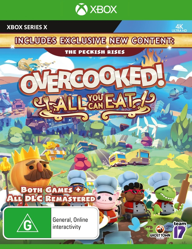 Overcooked All You Can Eat for Xbox Series X