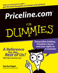 Priceline.com For Dummies by Sascha Segan image