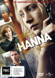 Hanna on DVD
