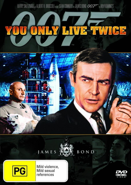 James Bond - You Only Live Twice on DVD