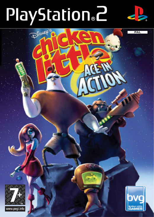 Chicken Little: Ace in Action for PlayStation 2